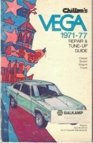Chilton's Repair & Tune-Up Guide: Vega 1971-77